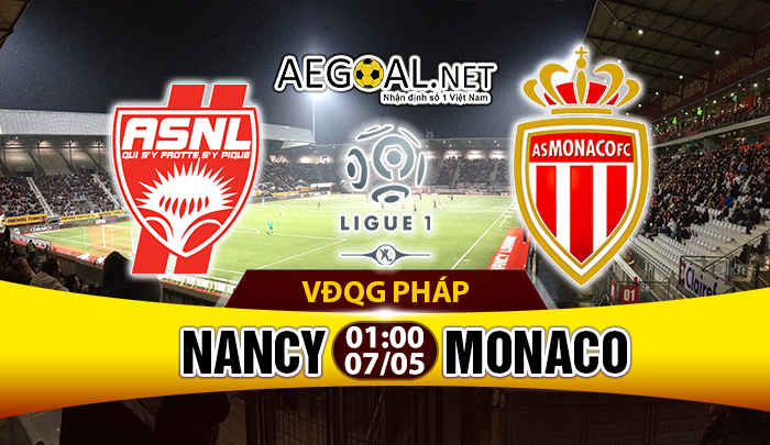 Nancy VS Monaco
