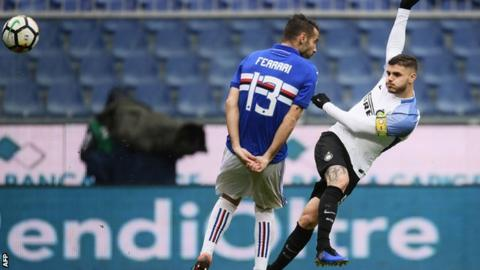 VIDEO: Sampdoria 0-5 Inter Milan: Thấy bóng Liverpool